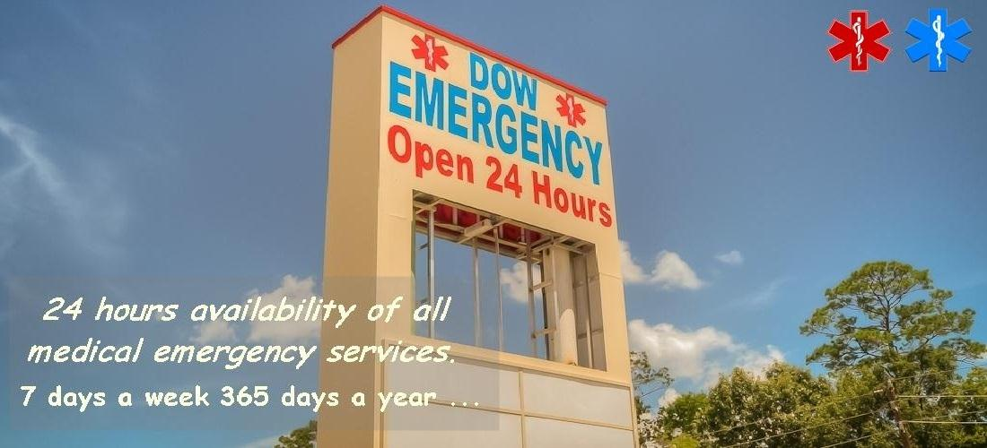 DOW Emergency Center Home Banner
